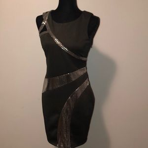 Bebe Black Dress Size M in great condition
